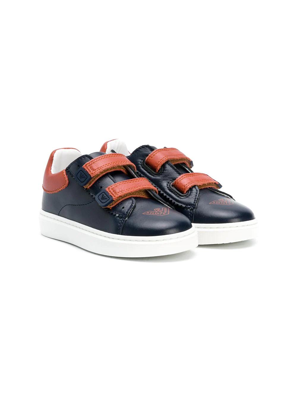 Emporio Armani Kids | двухцветные кроссовки | Clouty