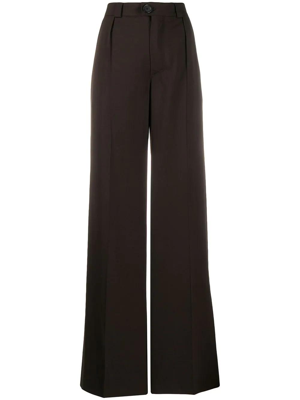 Kwaidan Editions | расклешенные брюки с завышенной талией | Clouty