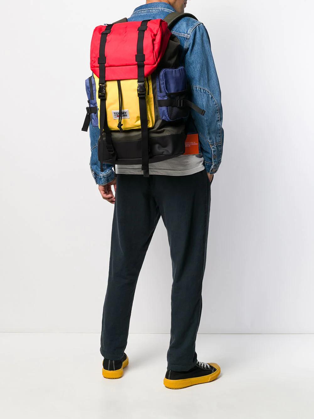 TOMMY HILFIGER | рюкзак со вставкой | Clouty