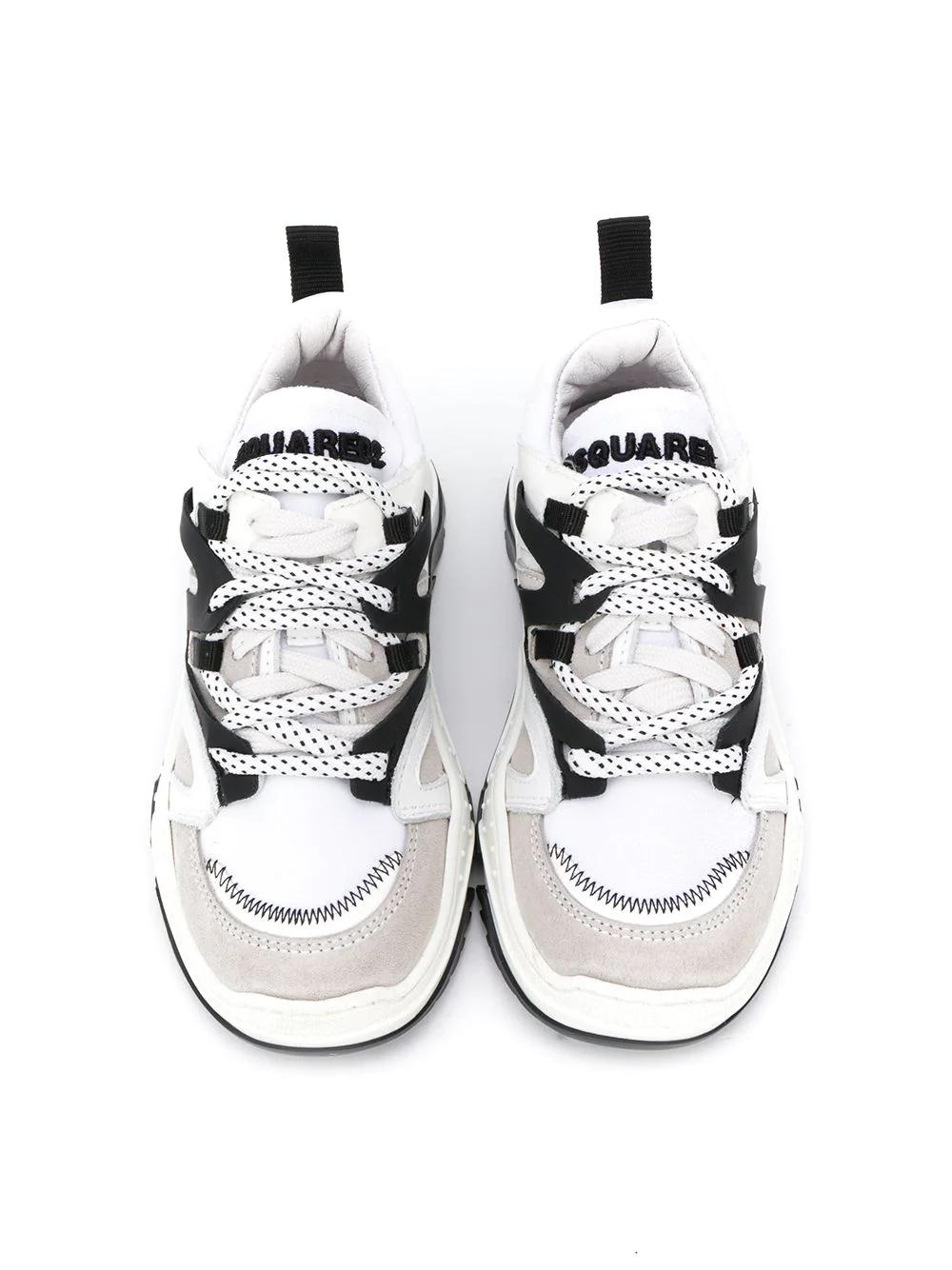 DSQUARED2 Kids | кроссовки в стиле колор-блок | Clouty