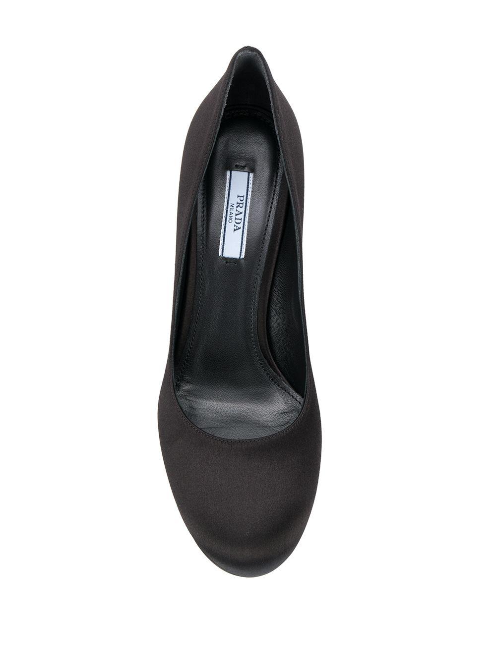 PRADA | атласные туфли-лодочки | Clouty