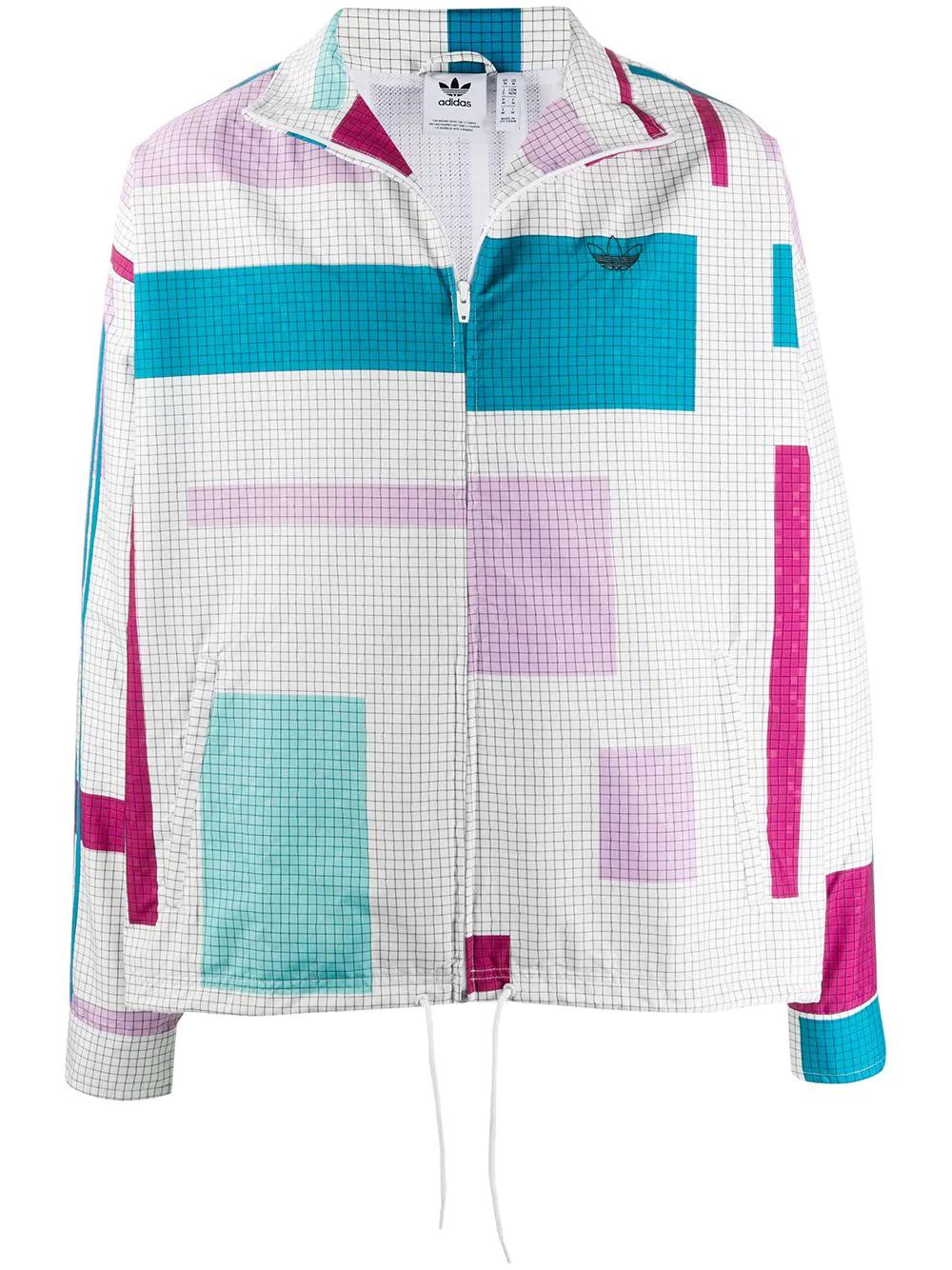 adidas   adidas спортивная куртка в стиле колор-блок   Clouty