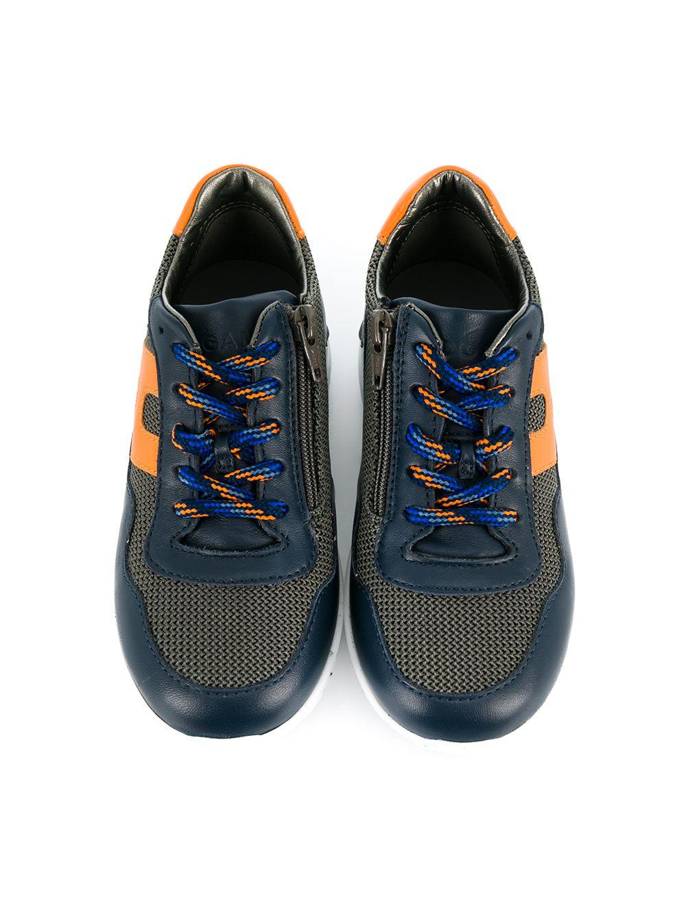 Hogan Junior | кроссовки со вставками | Clouty