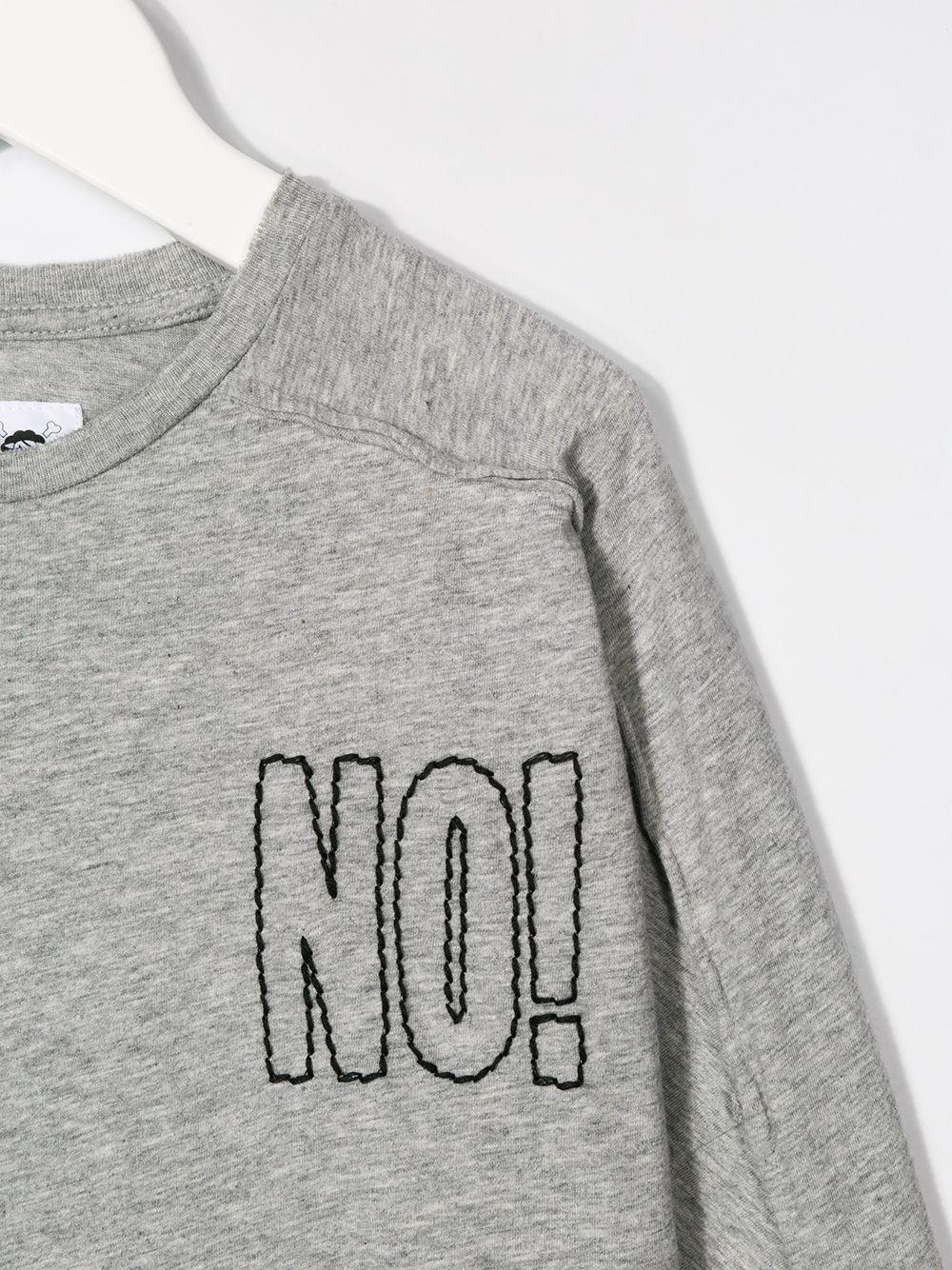 Nununu | Nununu футболка с длинными рукавами и эффектом потертости | Clouty