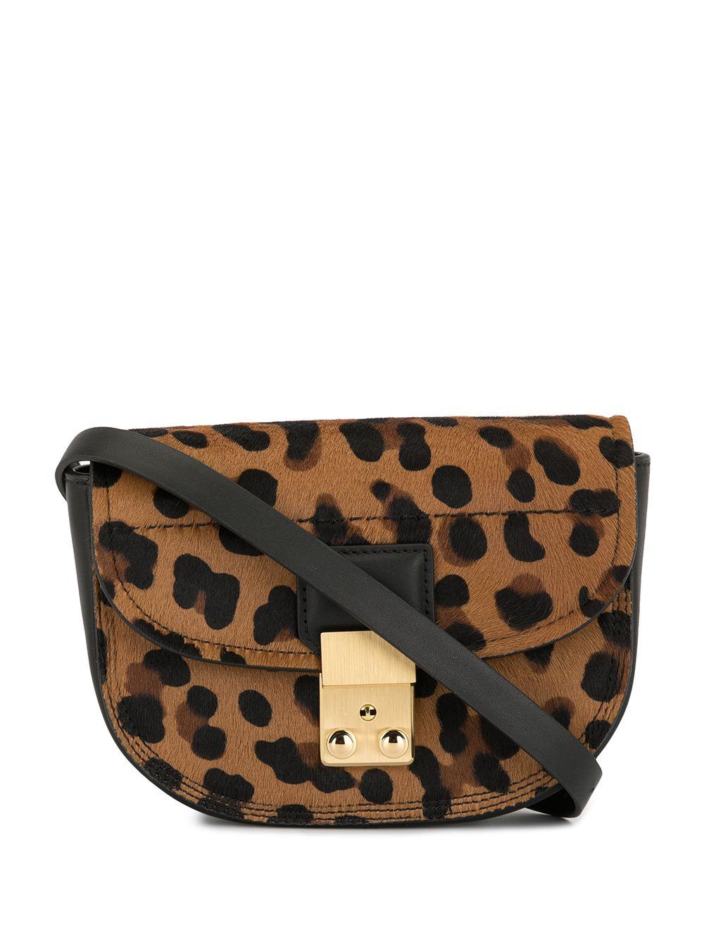 3.1 Phillip Lim | поясная мини-сумка Pashli с леопардовым принтом | Clouty