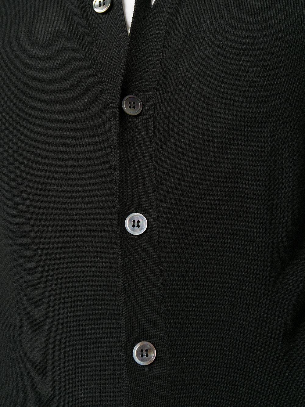 Dell'oglio   Dell'oglio кардиган с воротником-воронкой   Clouty