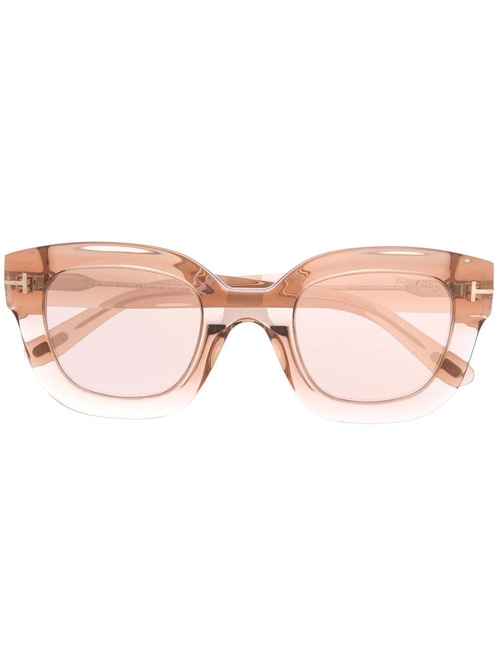 Tom Ford | солнцезащитные очки Pia в квадратной оправе | Clouty