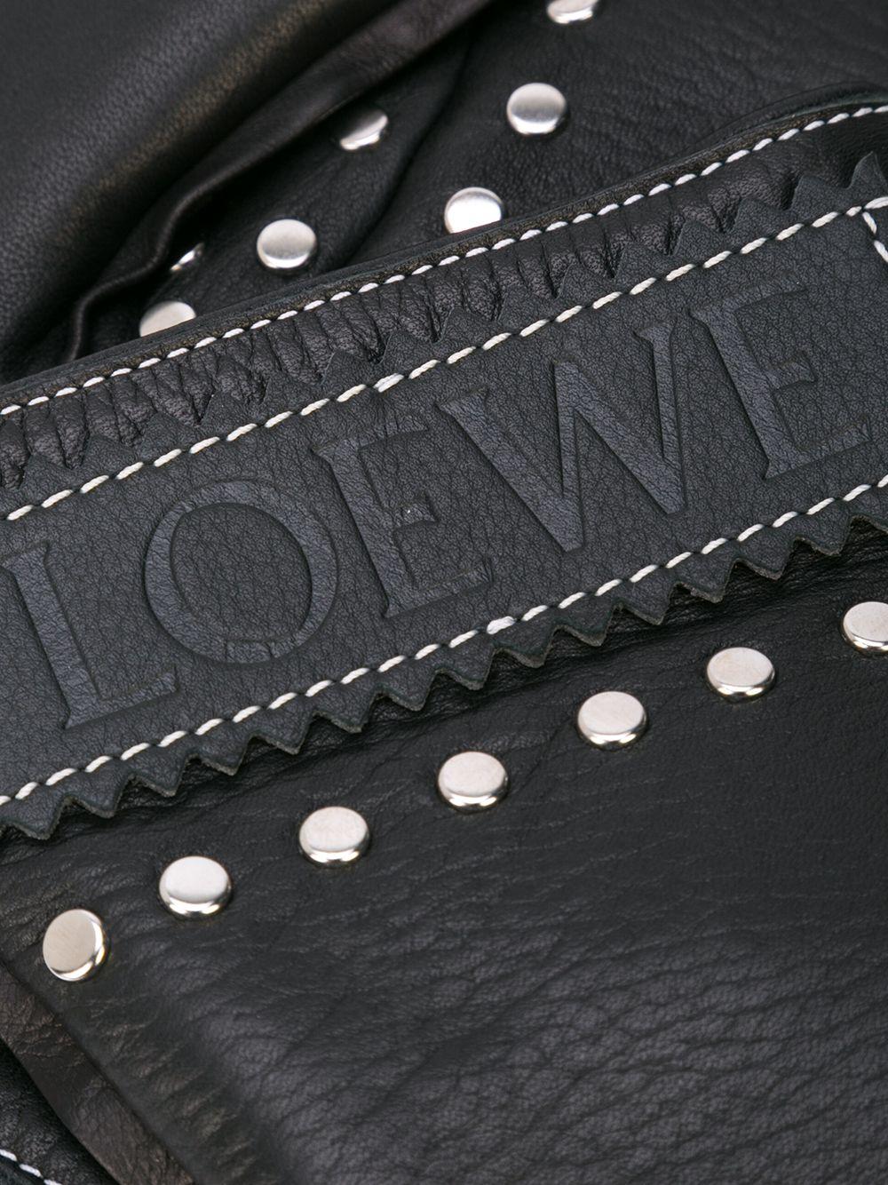 Loewe | варежки с заклепками | Clouty