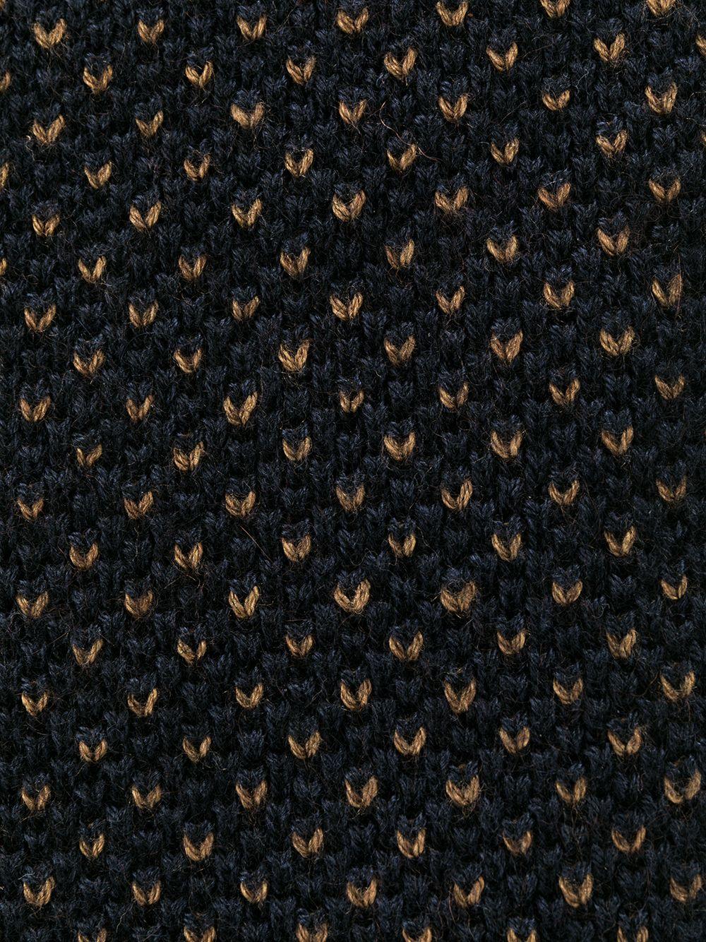 Canali | галстук с прямоугольным краем | Clouty
