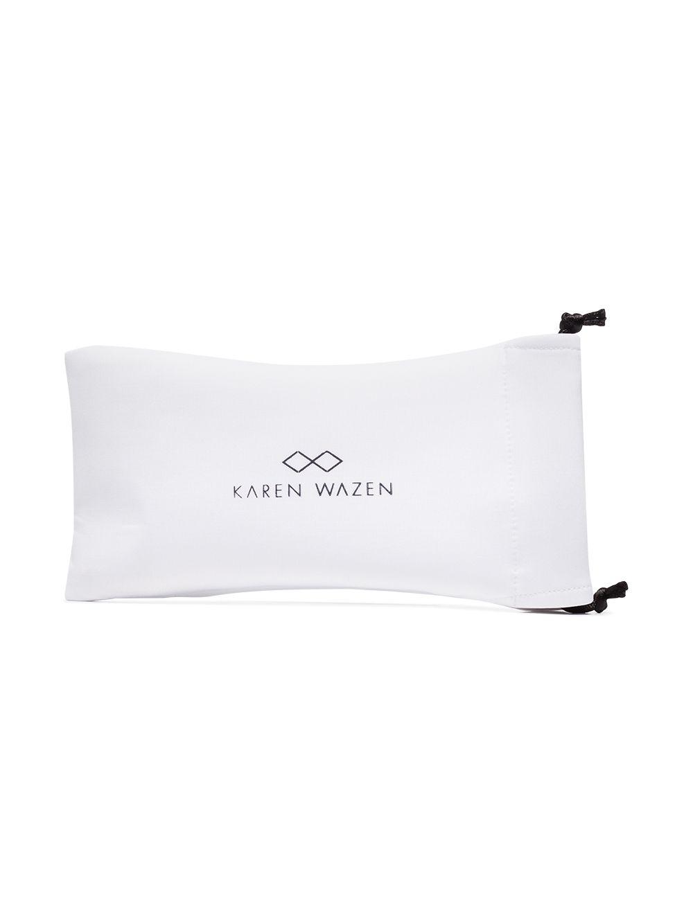 Karen Wazen | солнцезащитные очки в круглой оправе | Clouty