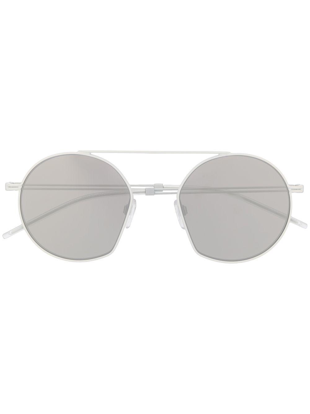 Emporio Armani   солнцезащитные очки G50 в круглой оправе   Clouty