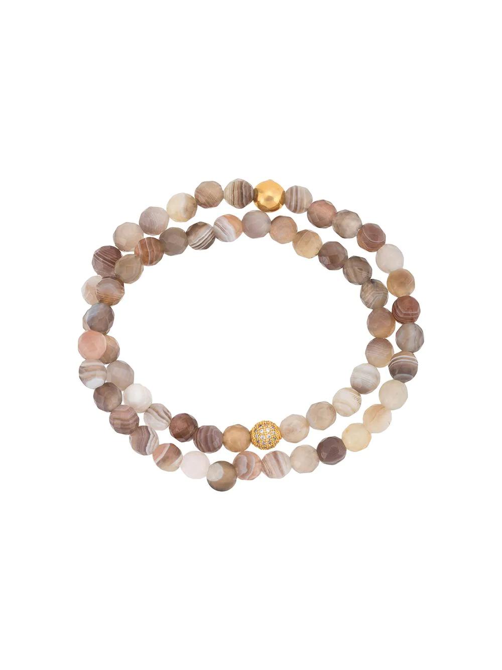 Nialaya Jewelry | Nialaya Jewelry браслет из бусин | Clouty