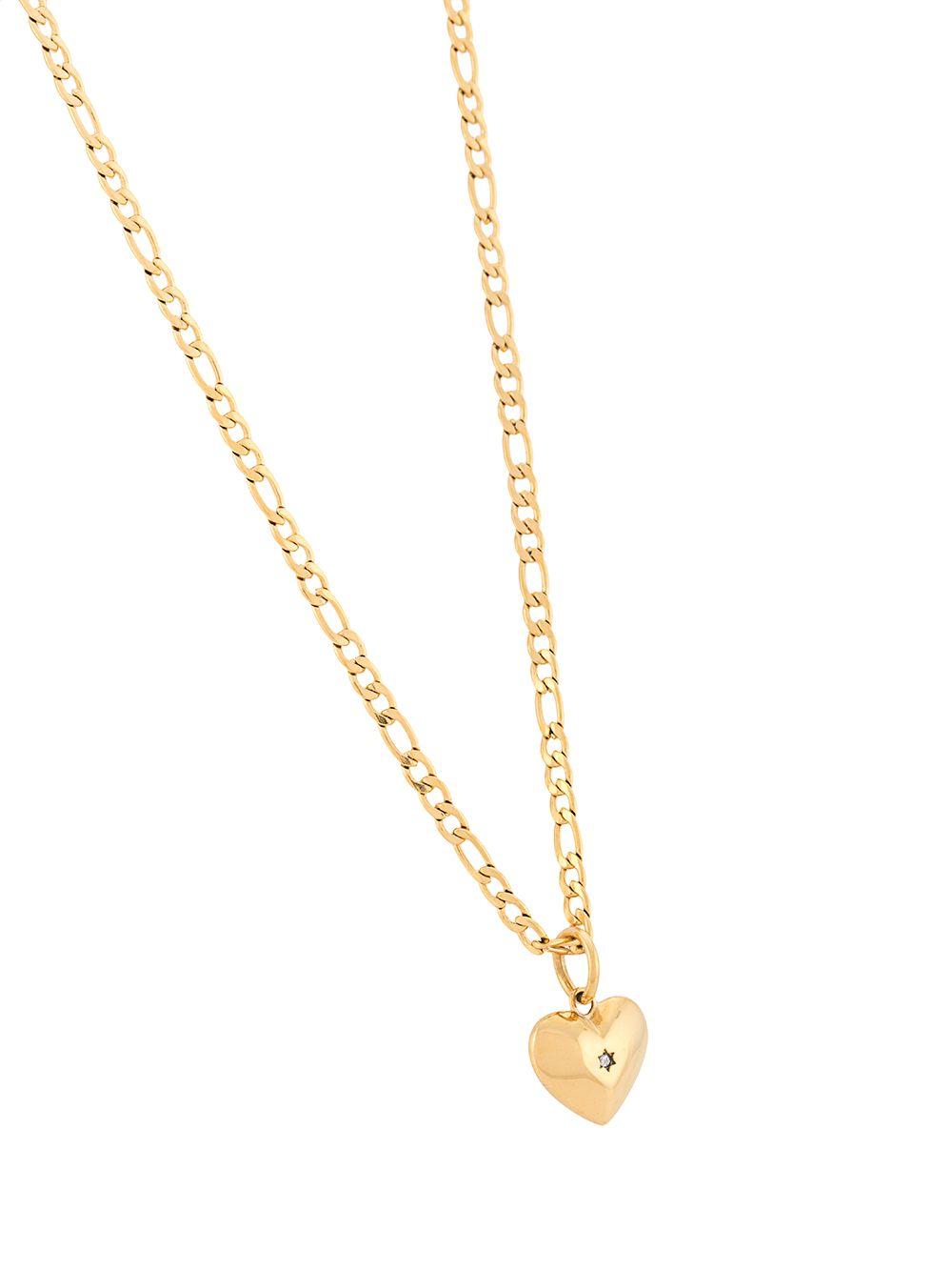 Nialaya Jewelry | Nialaya Jewelry колье с подвеской в форме сердца | Clouty