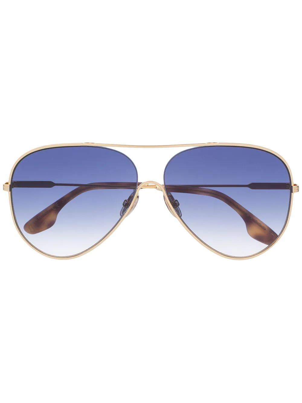Victoria Beckham   VB133S aviator sunglasses   Clouty