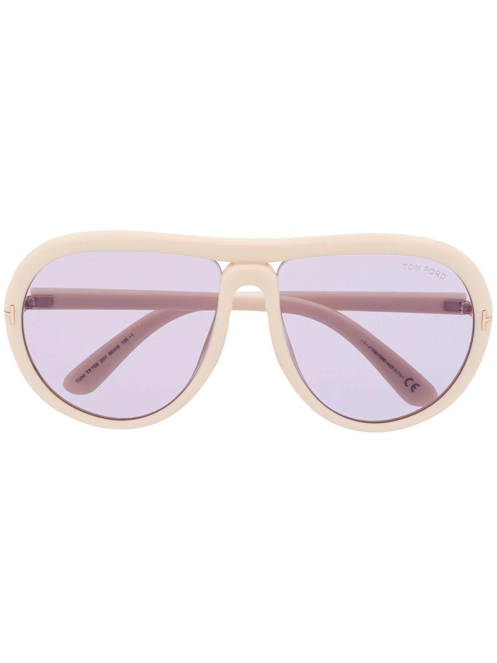 Tom Ford | солнцезащитные очки-авиаторы FT0768 | Clouty