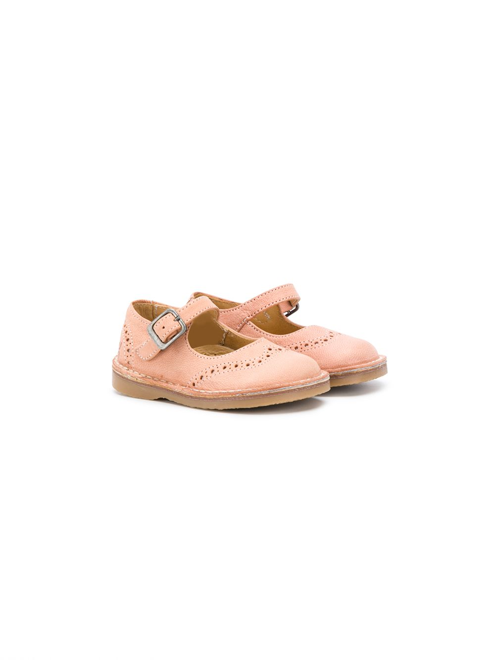 Douuod | Douuod Kids сандалии с пряжкой и перфорацией | Clouty