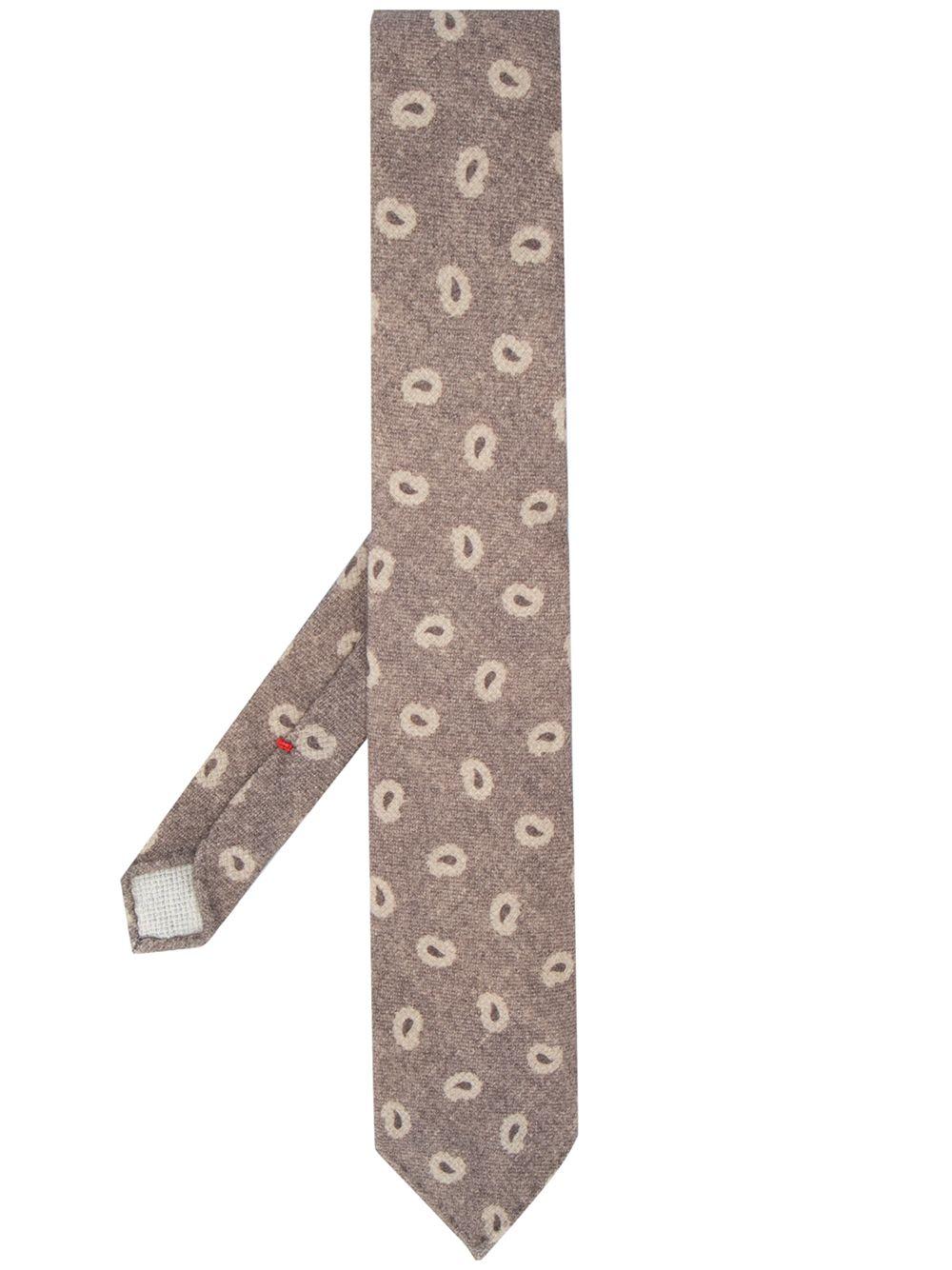 Dell'oglio | Dell'oglio галстук с принтом пейсли | Clouty