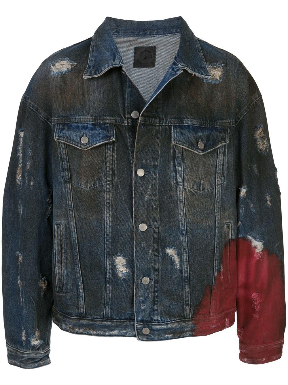 Alchemist | Alchemist джинсовая куртка с прорезями | Clouty