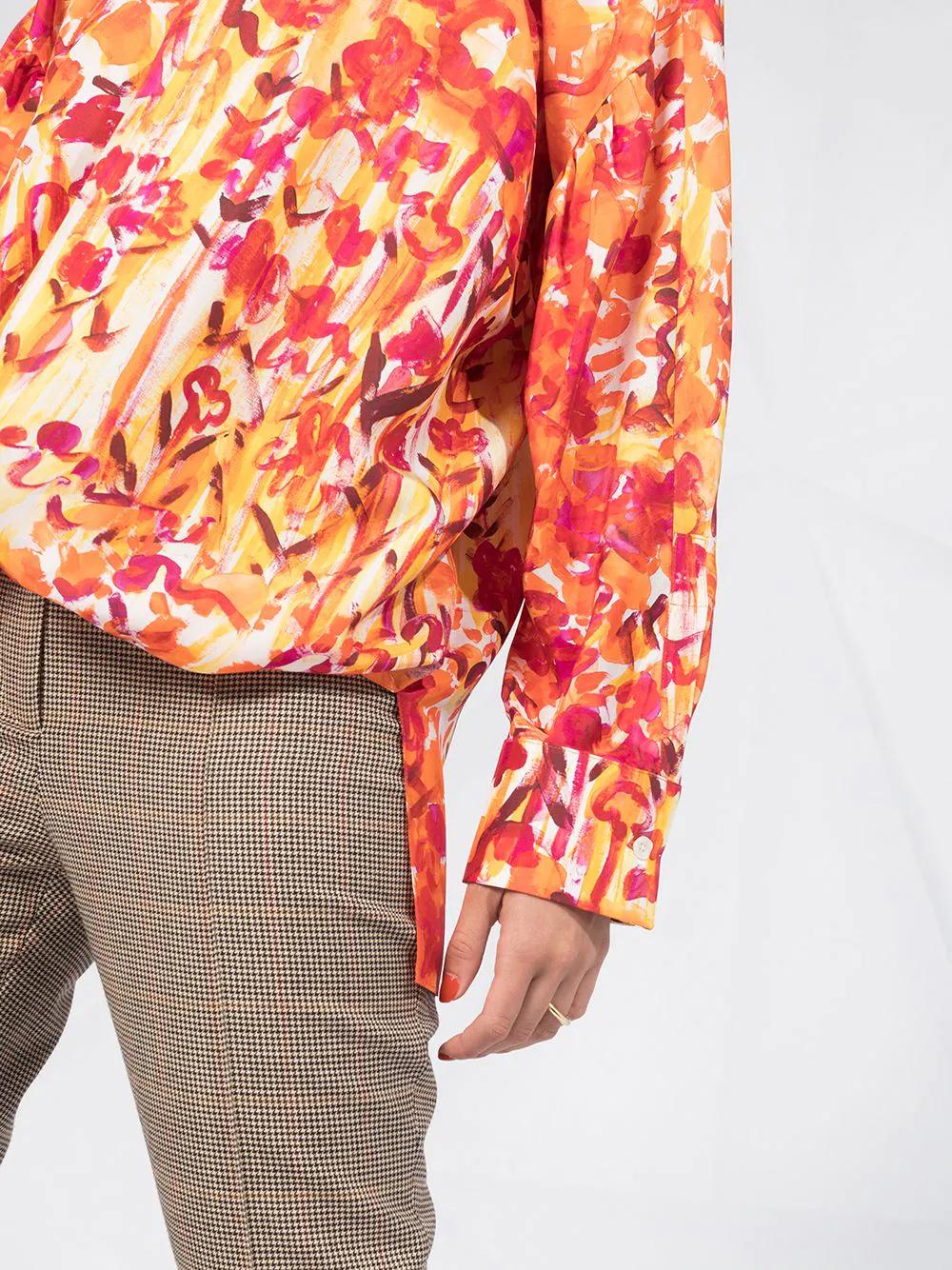 Marni   Marni блузка с принтом   Clouty
