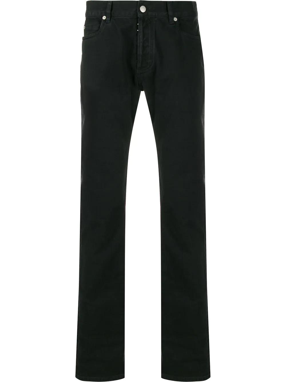 Maison Margiela | Maison Margiela джинсы с декоративной строчкой | Clouty