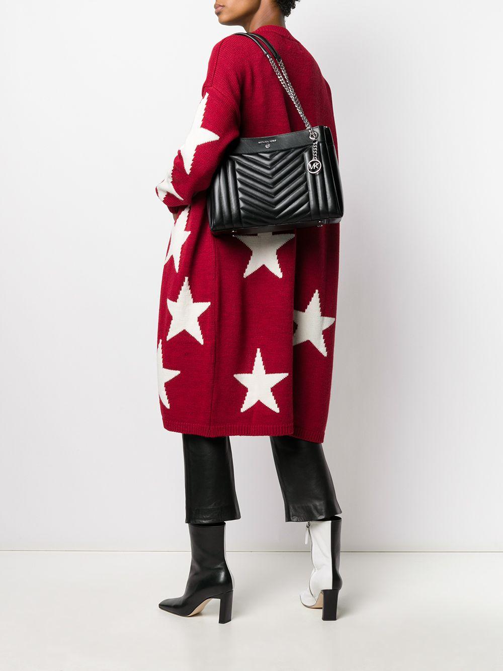 Michael Michael Kors | Michael Michael Kors стеганая сумка на плечо Susan среднего размера | Clouty