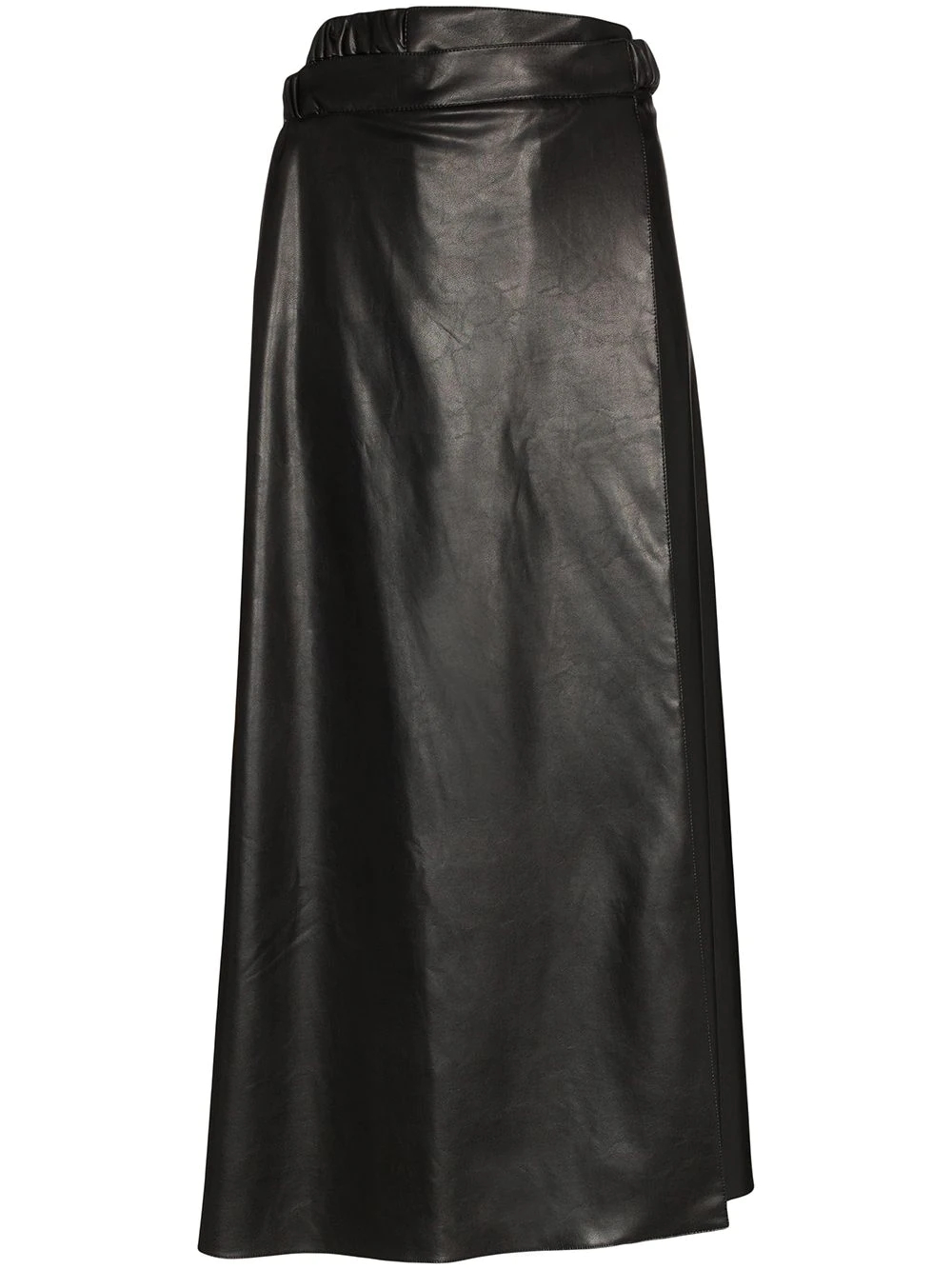 MARKOO | MARKOO юбка А-силуэта из искусственной кожи | Clouty