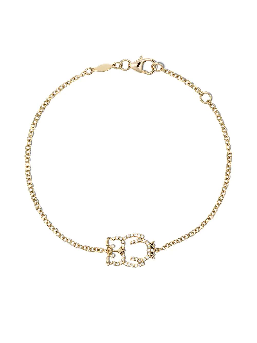 Kiki McDonough | Kiki McDonough браслет Memories из желтого золота с бриллиантами | Clouty