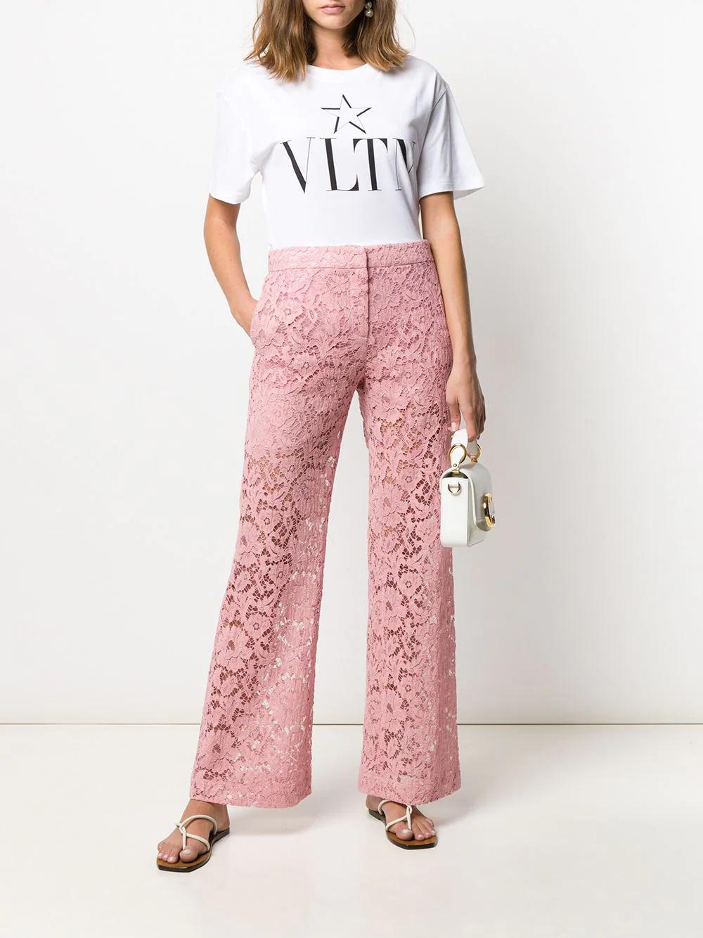 VALENTINO   Valentino кружевные брюки   Clouty