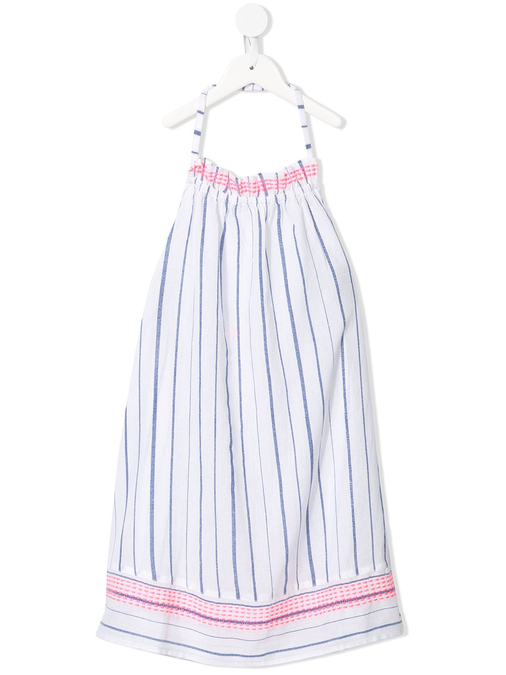 SUNUVA   Sunuva полосатое платье с вырезом халтер   Clouty