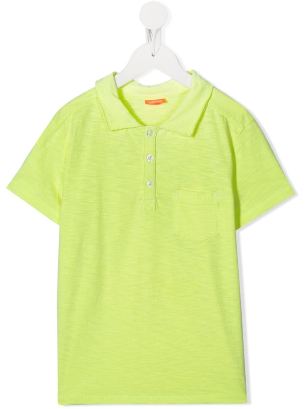SUNUVA   Sunuva рубашка-поло с карманом   Clouty