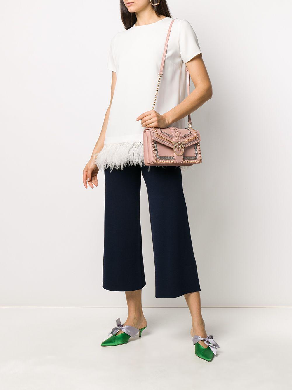 PINKO | Pinko сумка на плечо с заклепками | Clouty