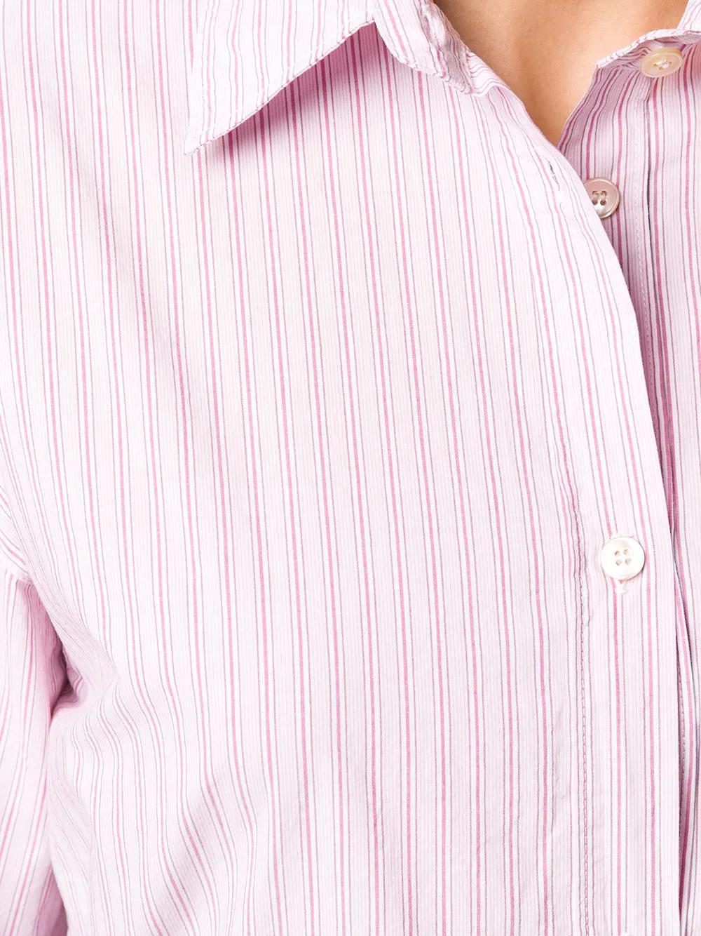 Forte Forte | Forte Forte платье-рубашка в полоску с поясом | Clouty