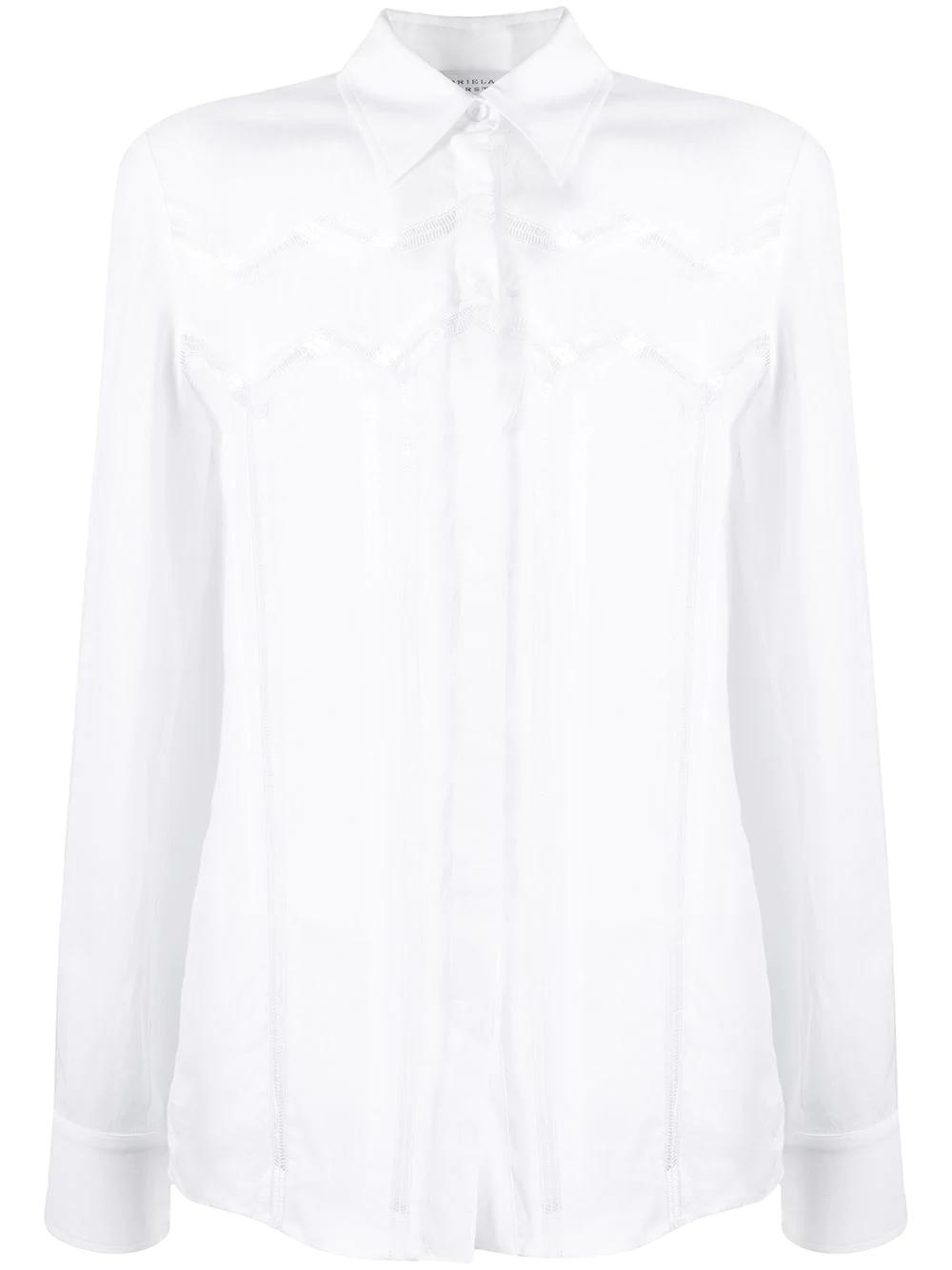 Gabriela Hearst | Gabriela Hearst рубашка с вырезами | Clouty