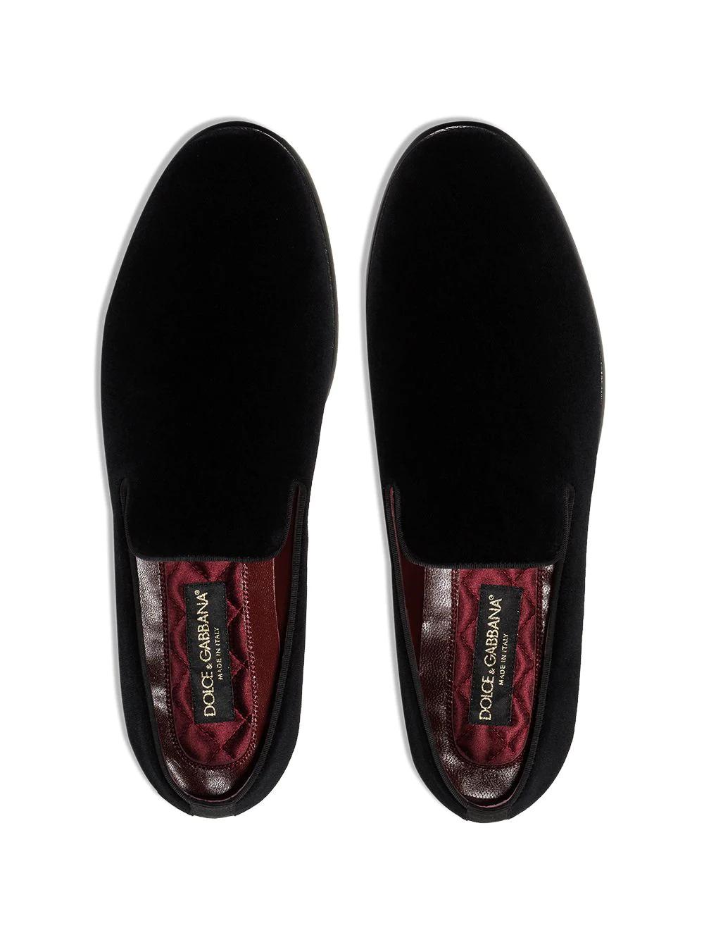 Dolce & Gabbana | Dolce & Gabbana бархатные лоферы | Clouty