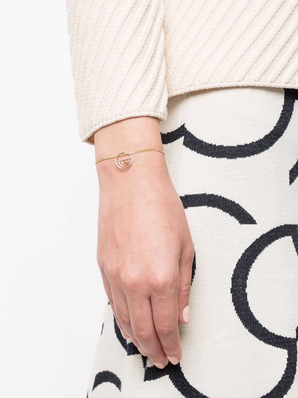 Natalie Marie | Natalie Marie браслет Indigo из желтого золота | Clouty