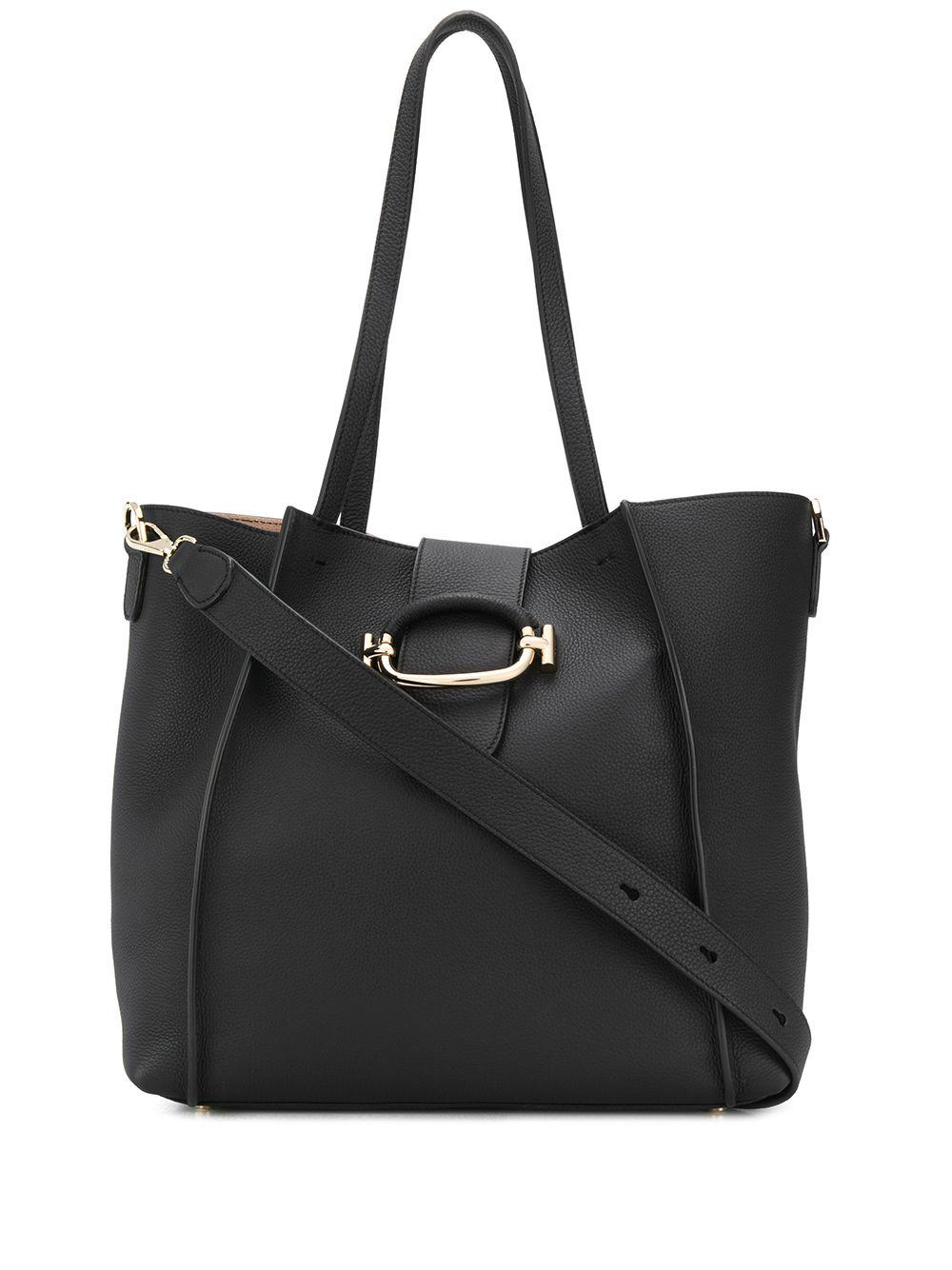 Tod's | сумка-шопер с пряжкой Double T | Clouty