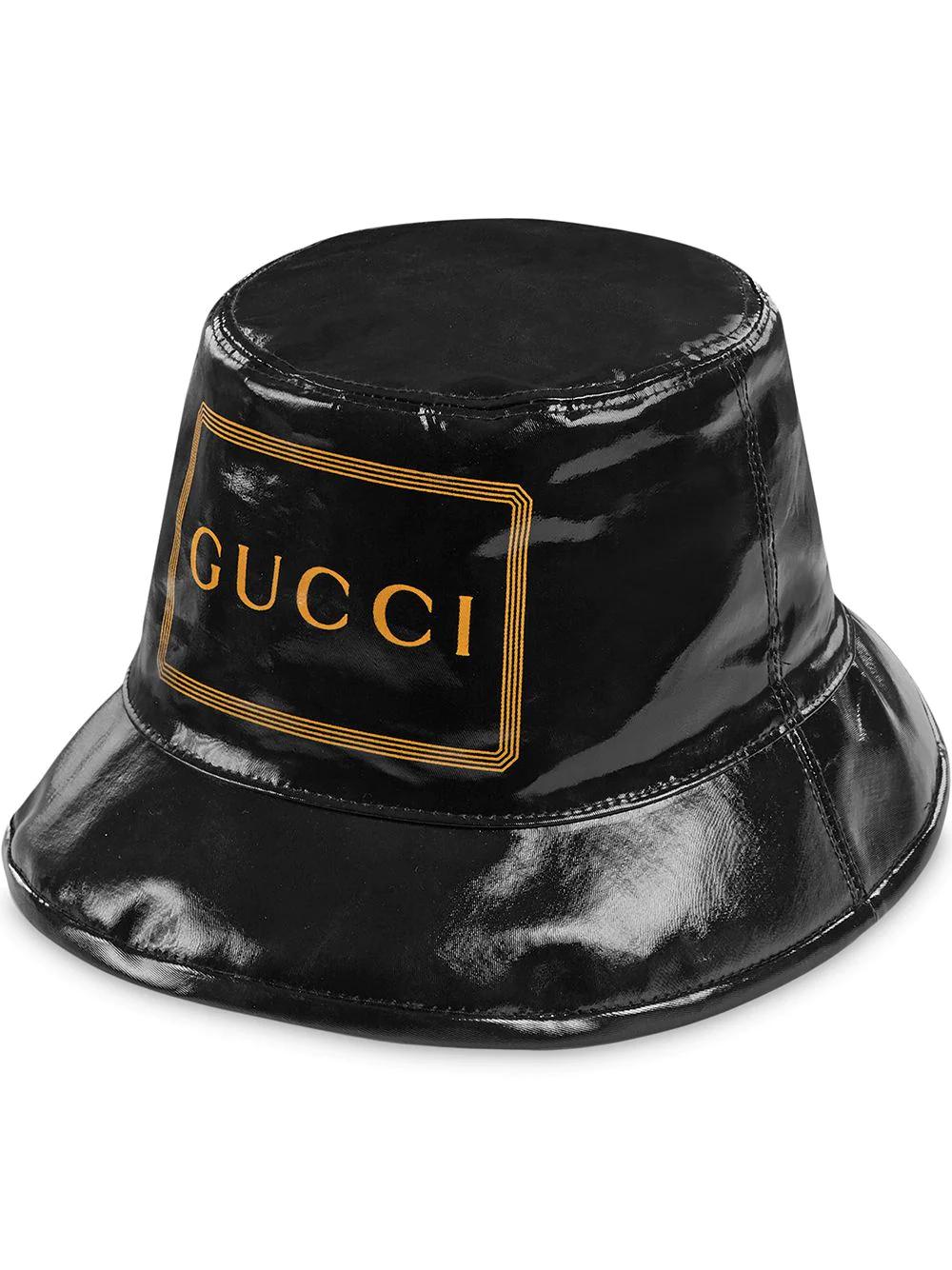 GUCCI | шляпа-федора с принтом Gucci | Clouty
