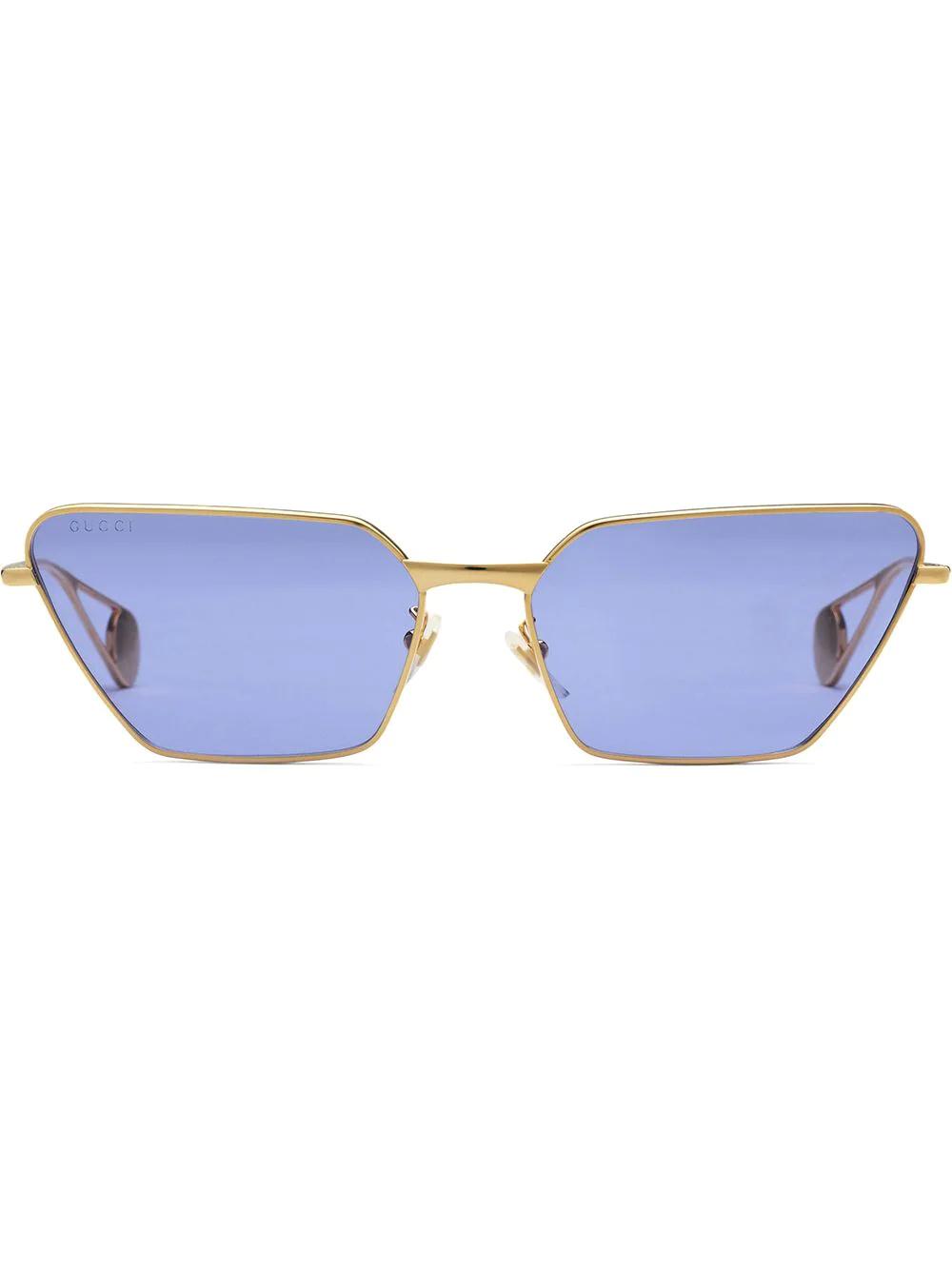 GUCCI | солнцезащитные очки в прямоугольной оправе | Clouty