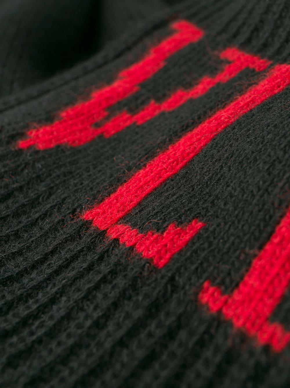 VALENTINO | Valentino свитер жаккардовой вязки с логотипом VLTN | Clouty