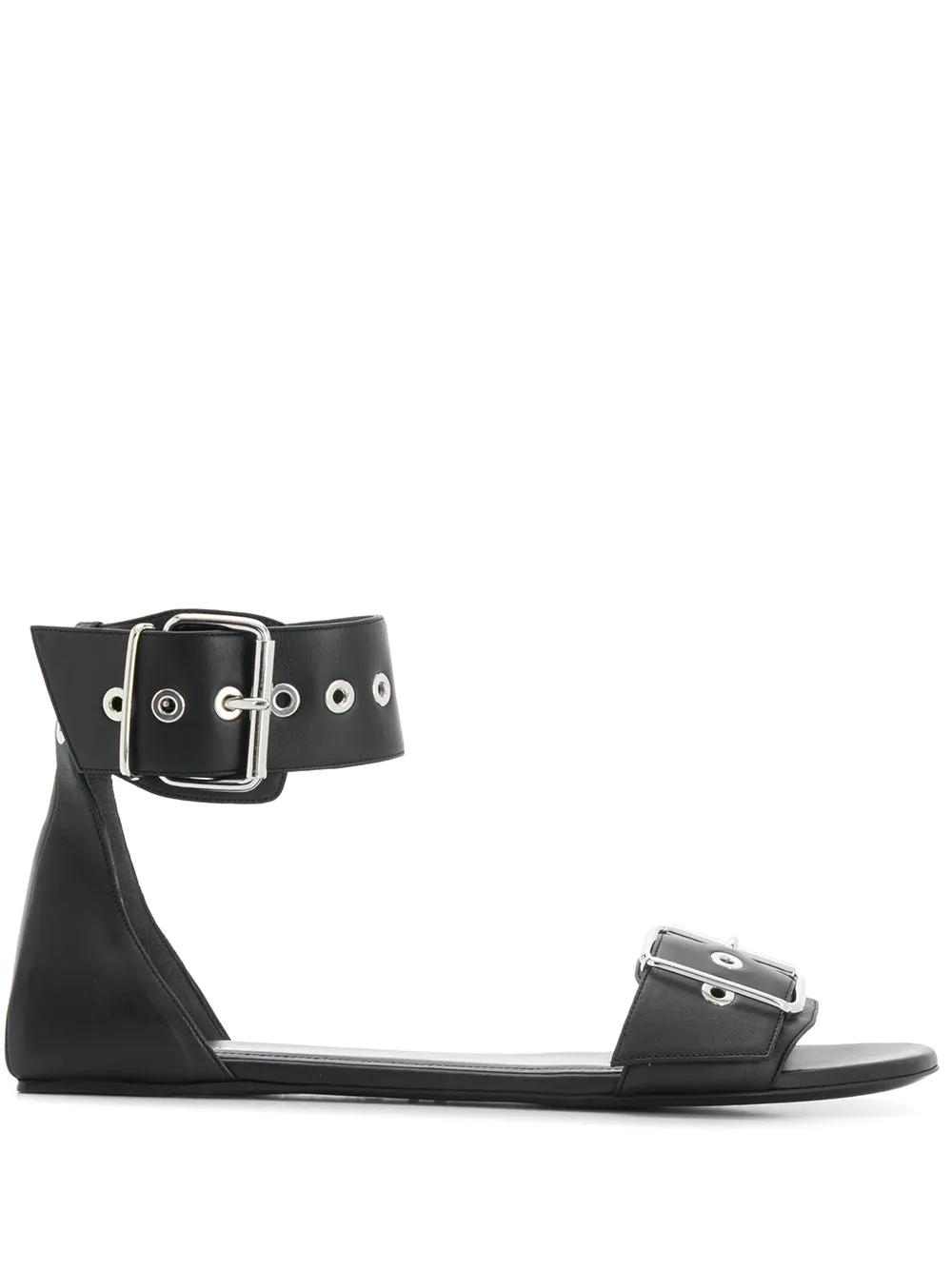 Balenciaga | сандалии с пряжками | Clouty