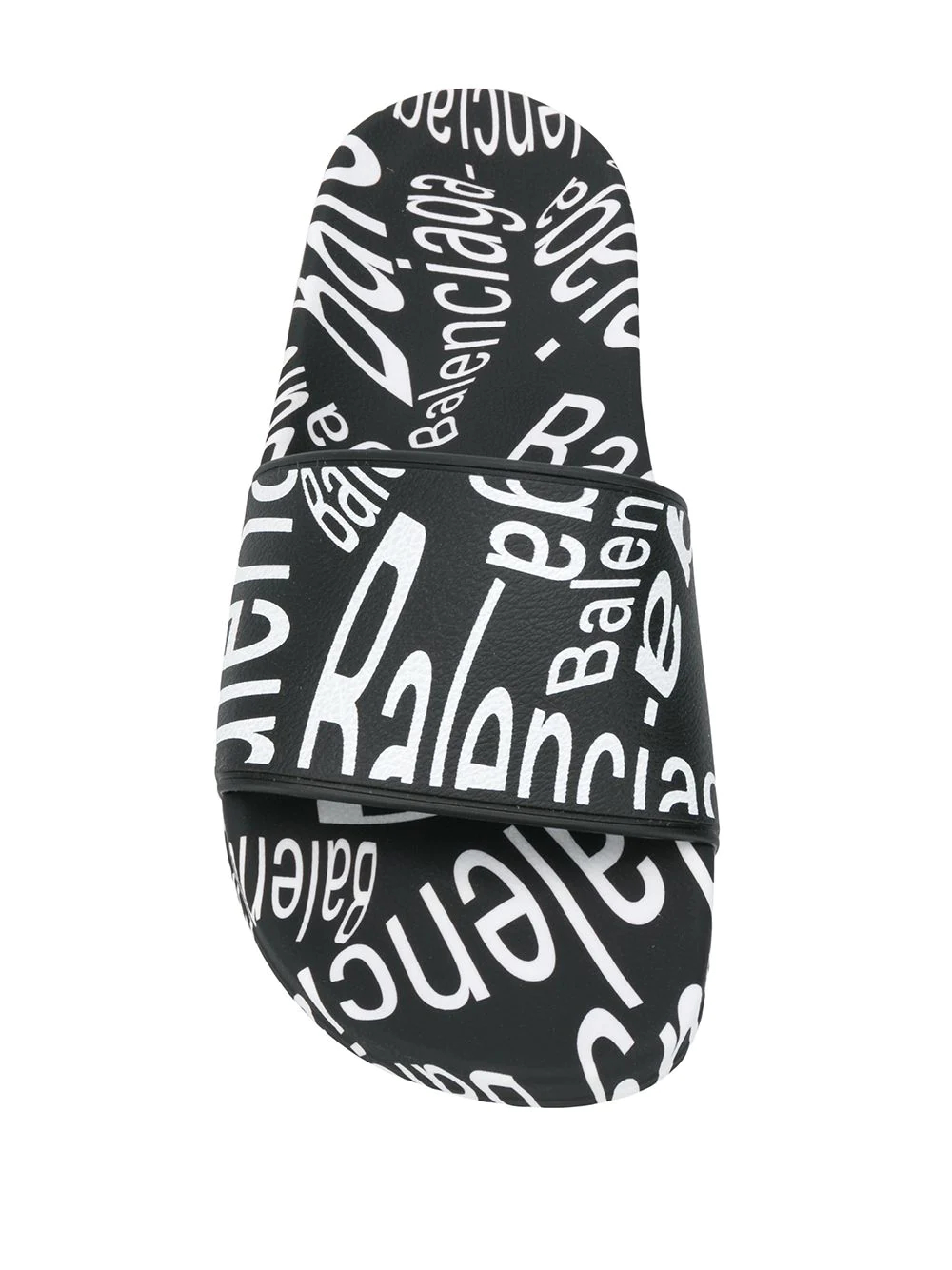 Balenciaga | шлепанцы с логотипом | Clouty