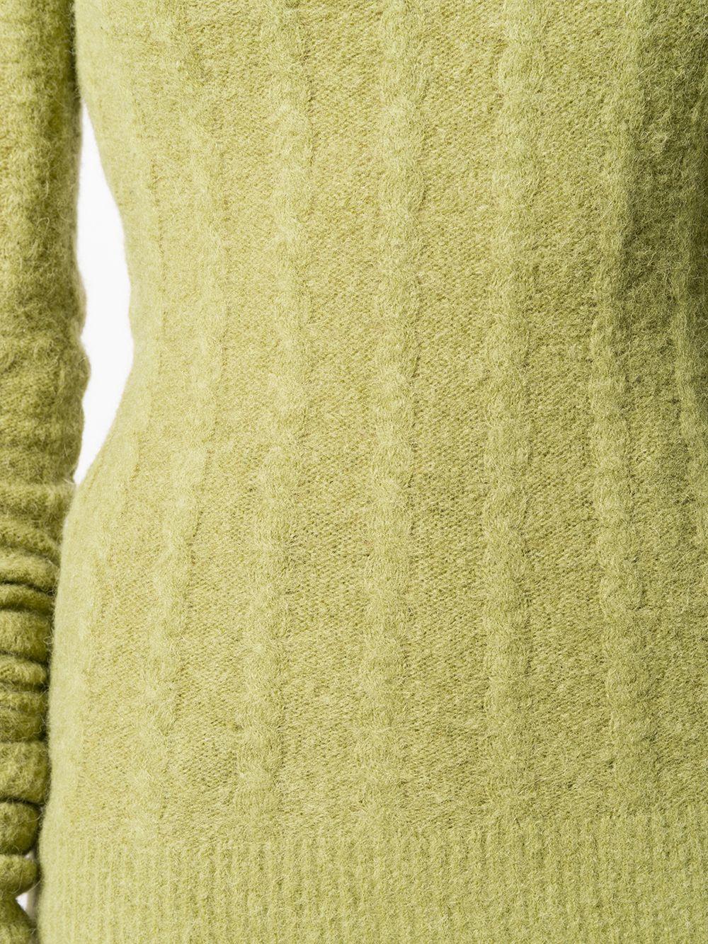 Jacquemus | Jacquemus джемпер Sofia с высоким воротником в рубчик | Clouty