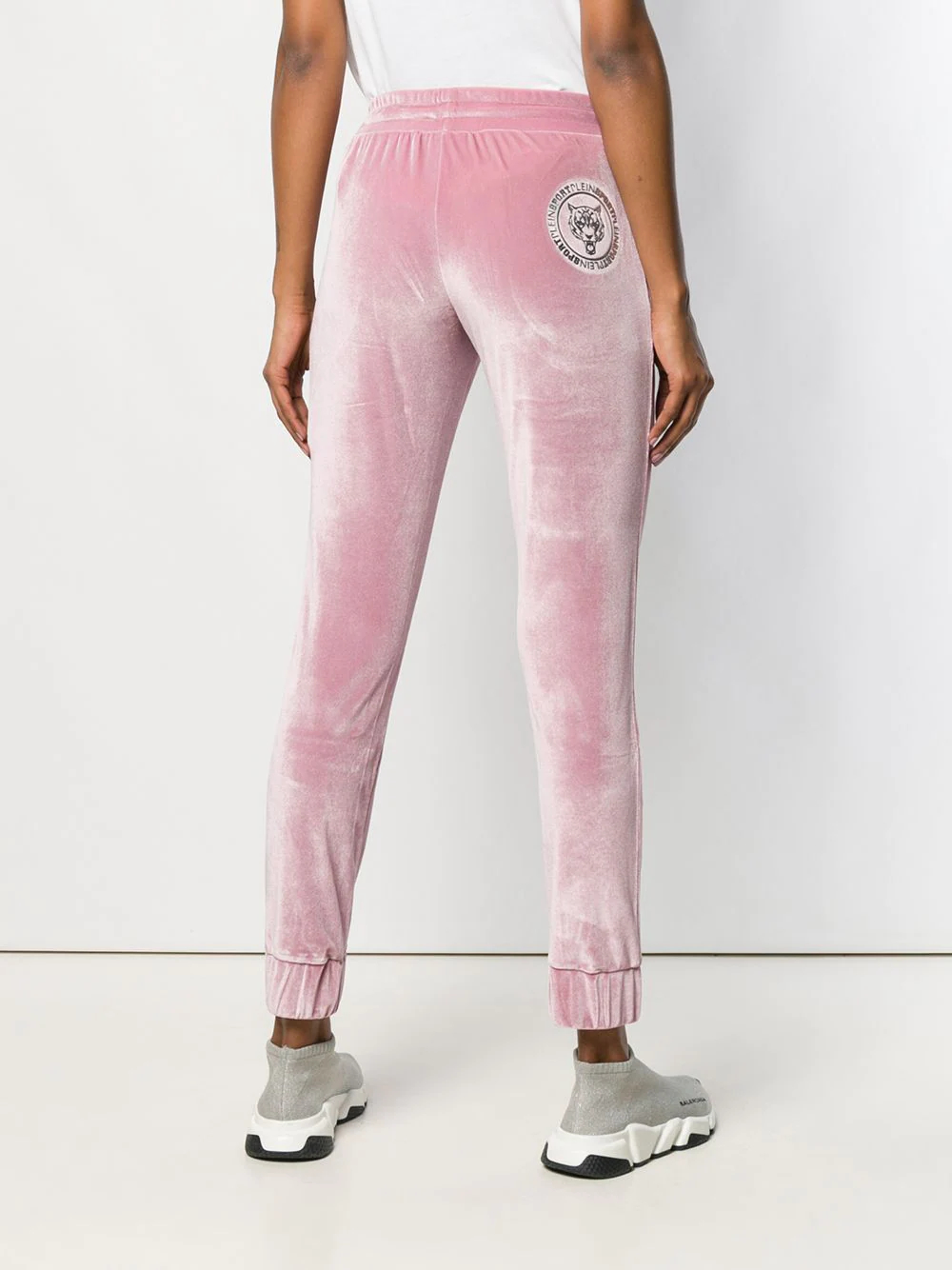 Plein Sport   бархатные спортивные брюки   Clouty