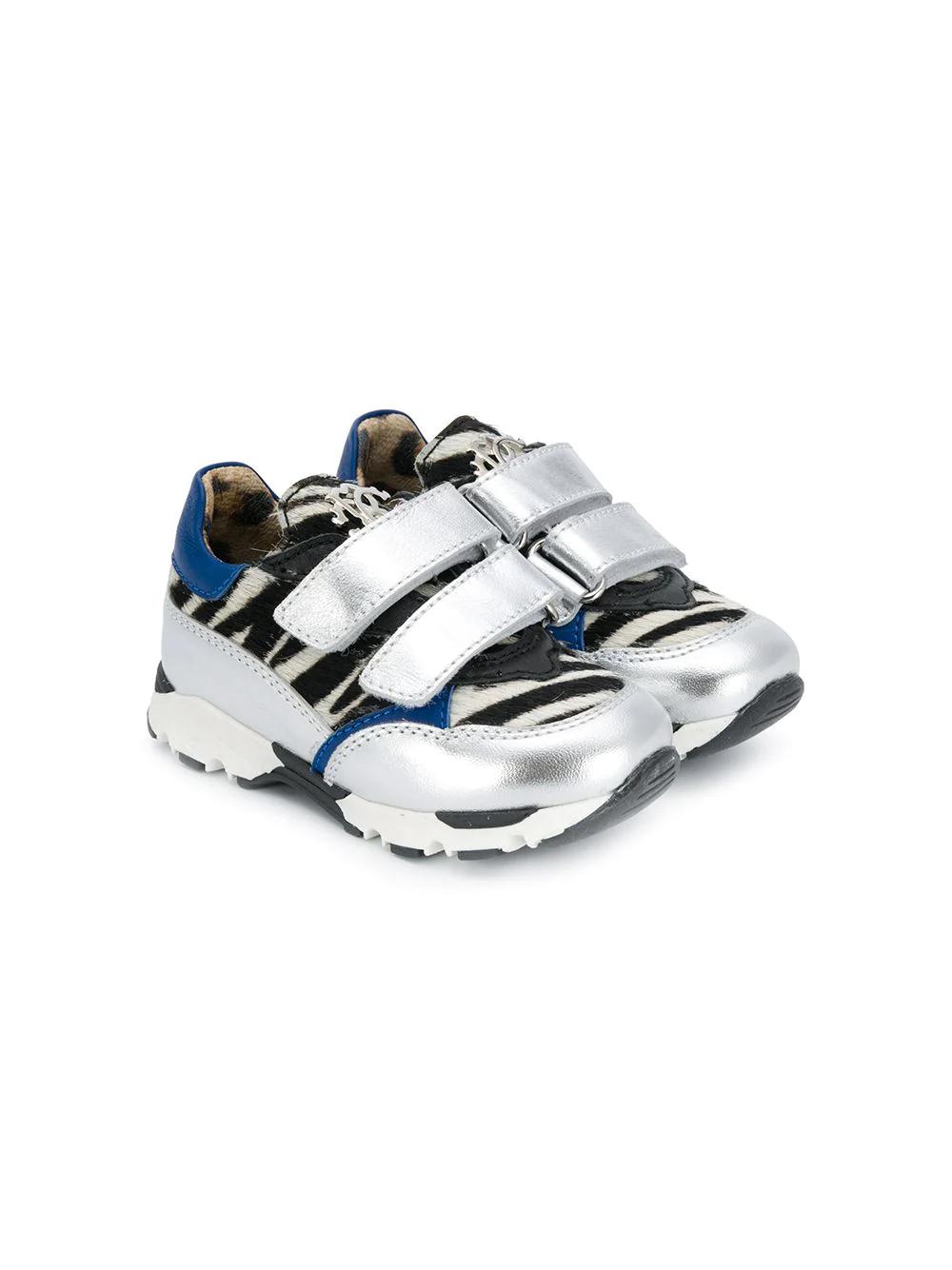 Roberto Cavalli Junior | Roberto Cavalli Junior кроссовки с принтом | Clouty