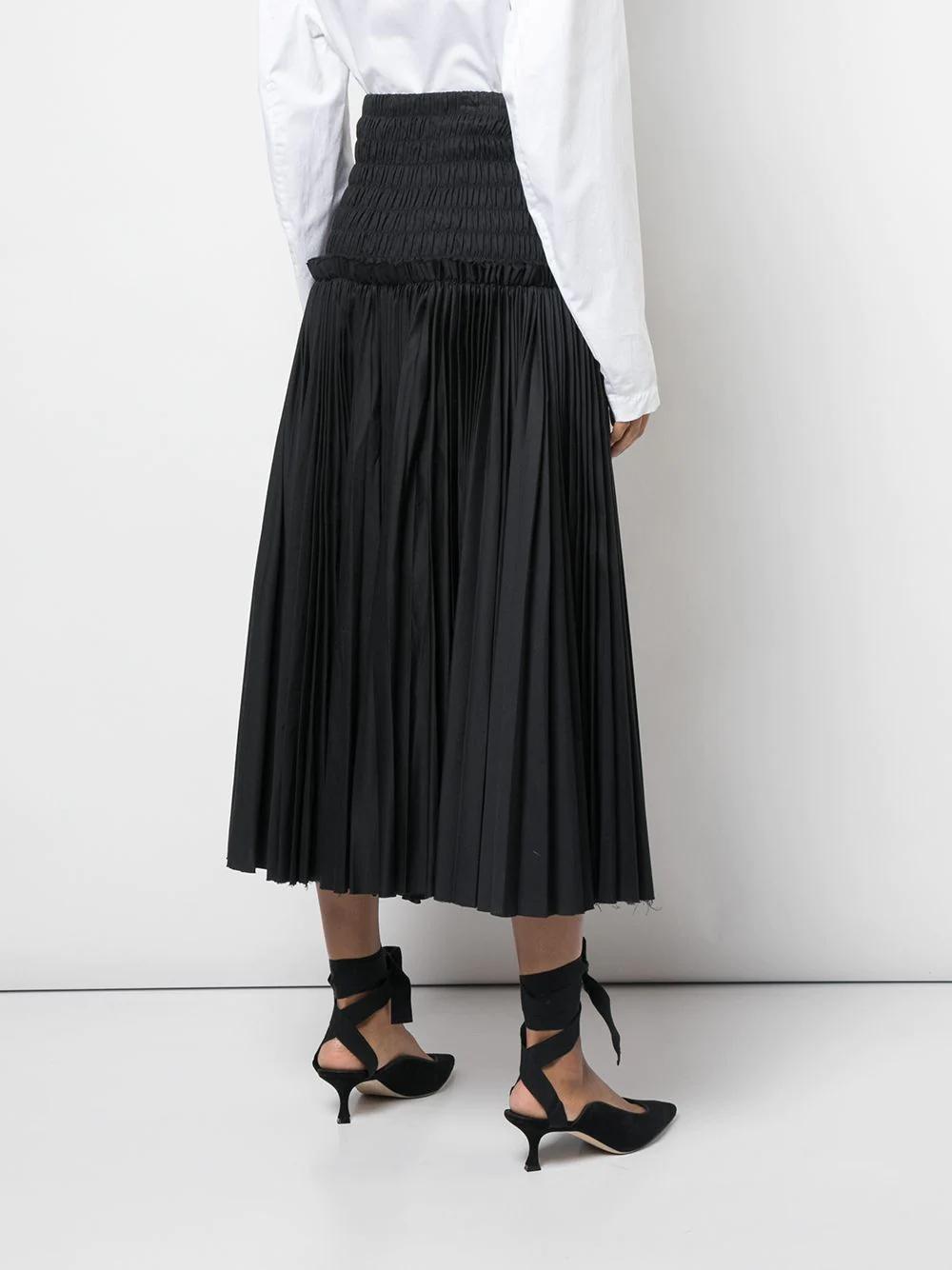 Khaite | юбка с завышенной талией | Clouty
