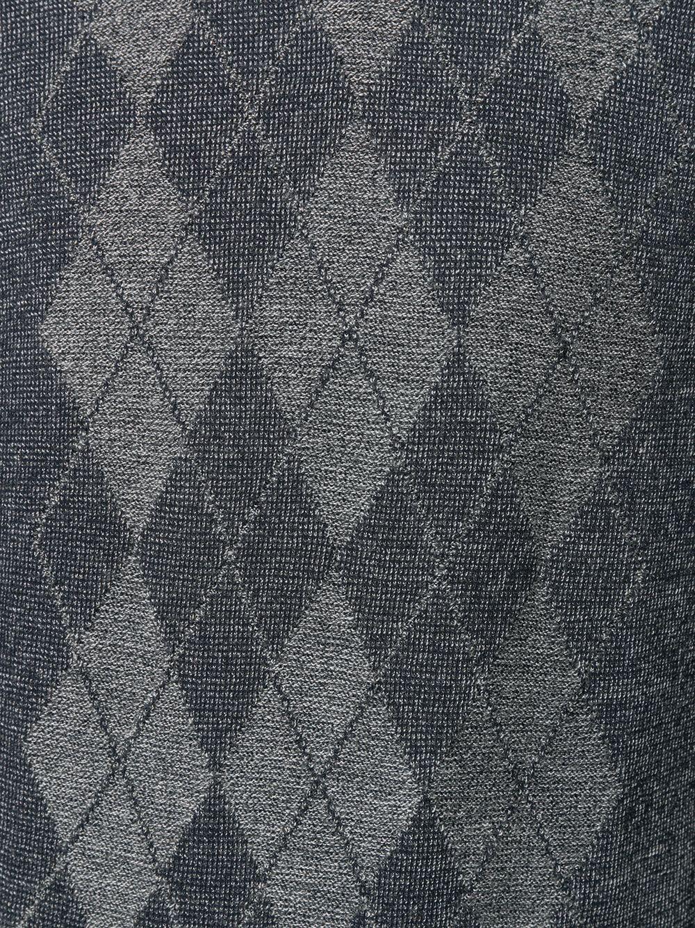 Pringle Of Scotland | Pringle of Scotland свитер тонкой вязки с узором аргайл | Clouty