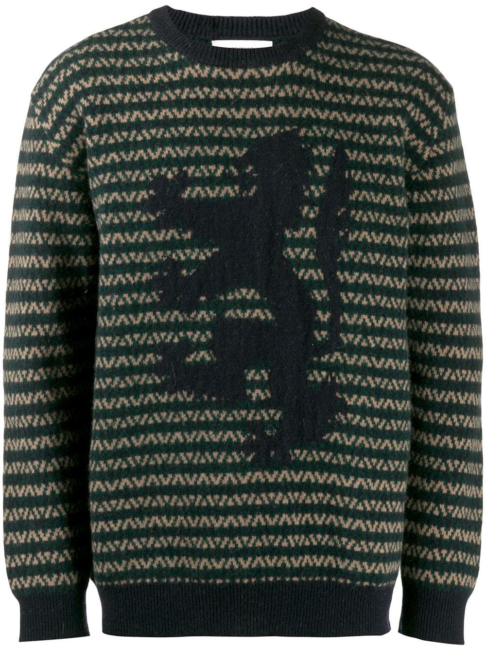 Pringle Of Scotland | Pringle of Scotland свитер вязки интарсия | Clouty
