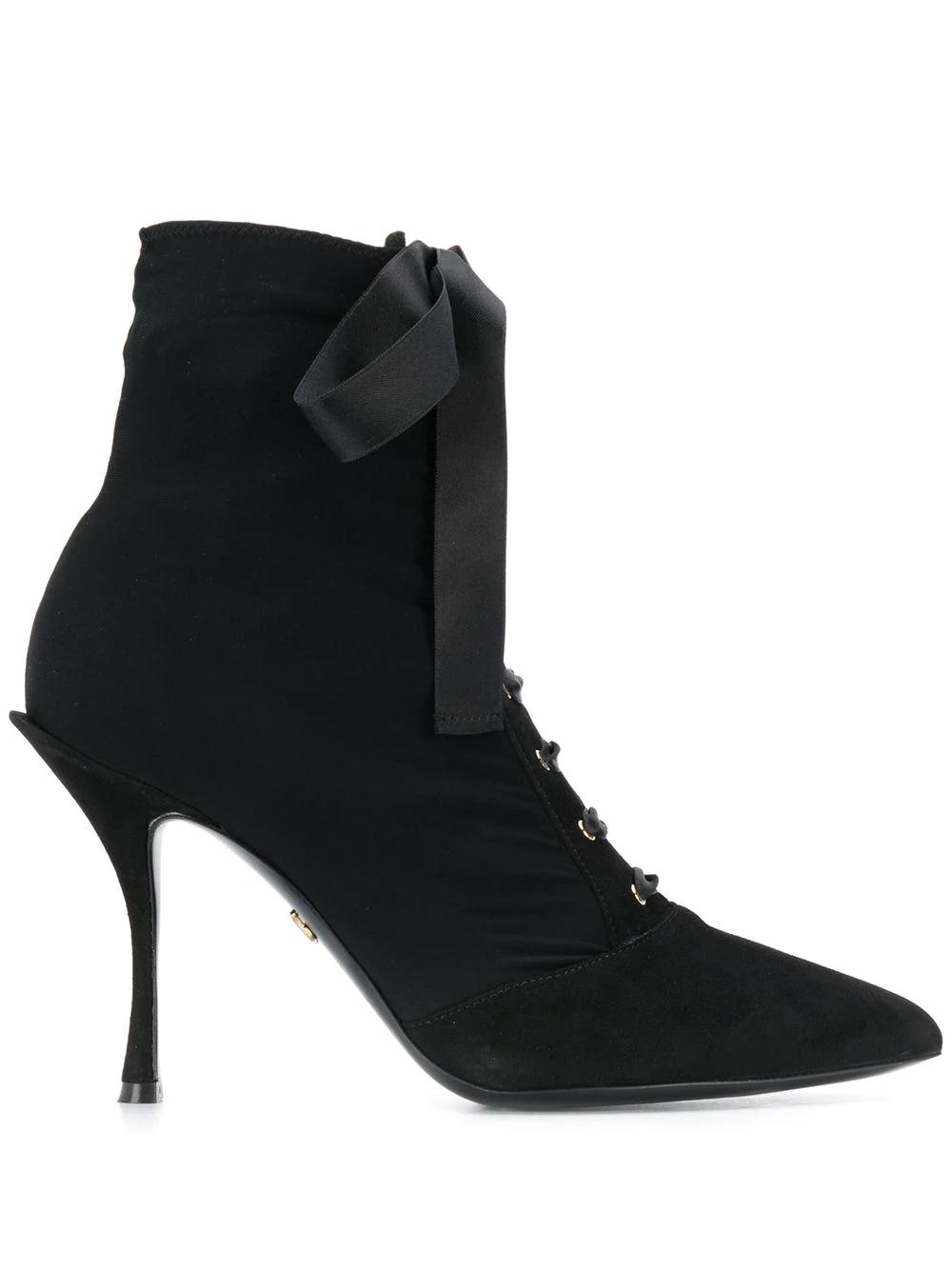 Dolce & Gabbana | ботильоны на шнуровке | Clouty
