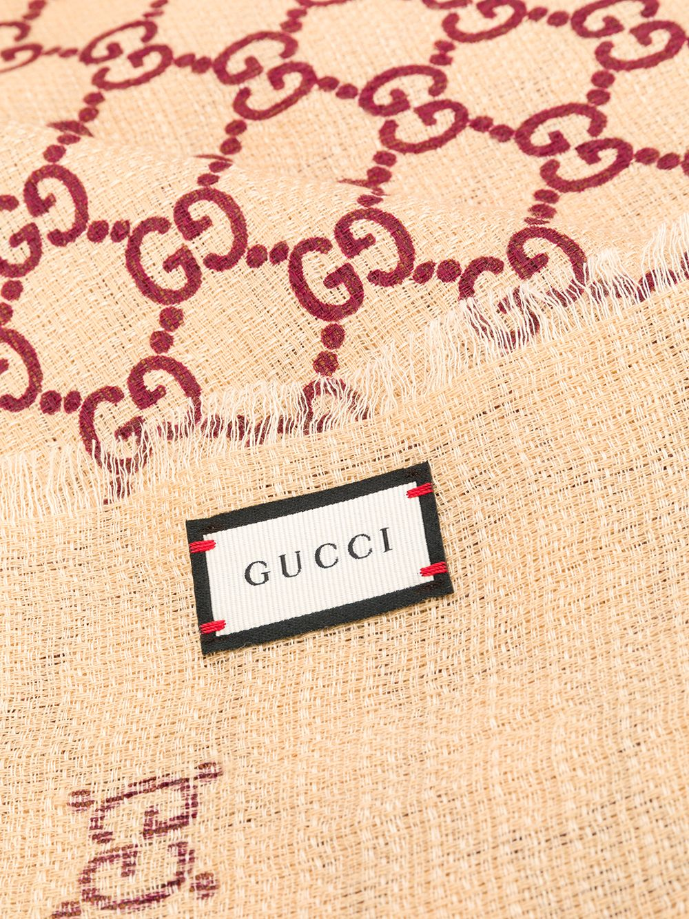 GUCCI | шарф с логотипом GG | Clouty