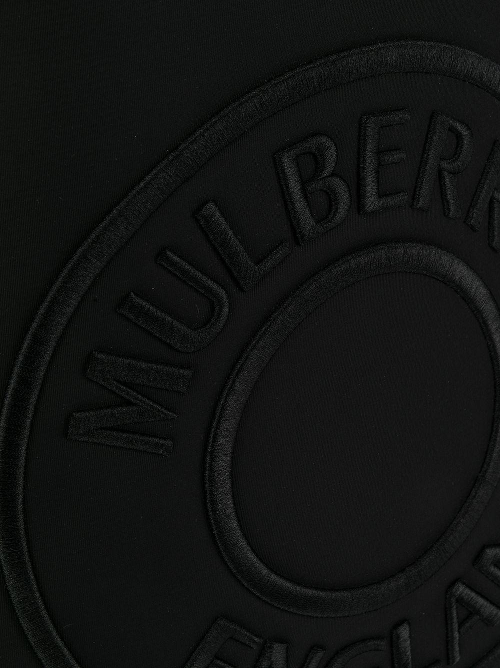 Mulberry | рюкзак Urban с вышитым логотипом | Clouty